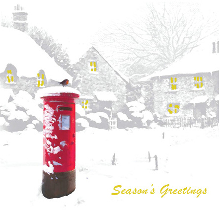 charity christmas cards letter-box