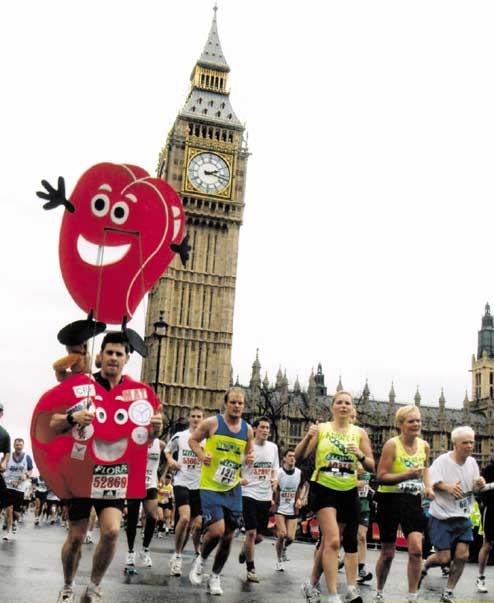 heart costume runner london marathon