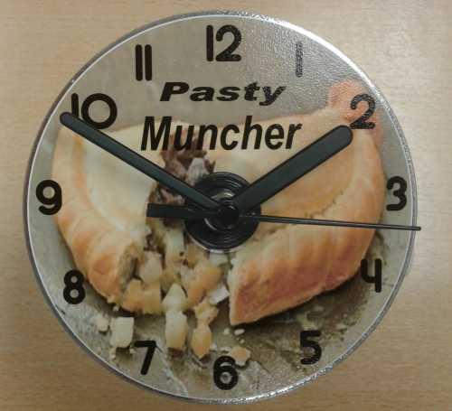pasty clock