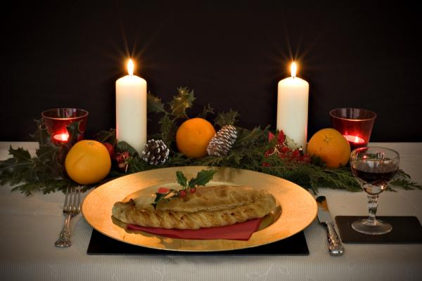 Festive Cornish Pasty at Christmas