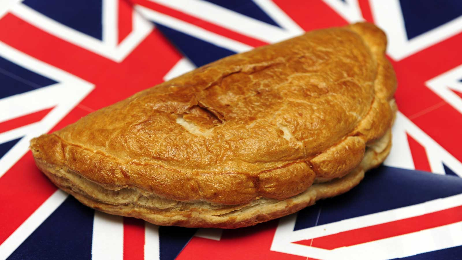 Pasty on Union Flag